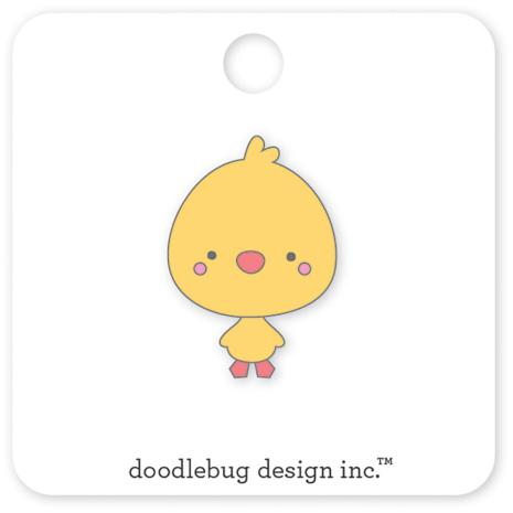 Doodlebug Easter Express Collectible Enamel Pin - Chicky