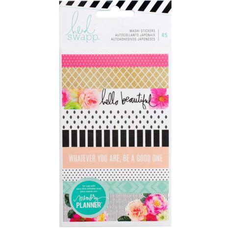 Heidi Swapp Memory Planner Washi Sticker Sheets 3/Pkg