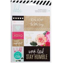 Heidi Swapp Memory Planner Stickers 2/Pkg - Calendar UTGÅENDE