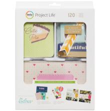 Project Life Value Kit 120/Pkg - Garden Party