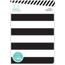 Heidi Swapp Personal Memory Planner - Black & White Stripe UTGÅENDE