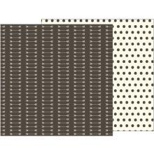Pebbles Simple Life Double-Sided Cardstock 12X12 - Arrows UTGÅENDE