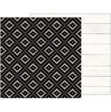 Pebbles Simple Life Double-Sided Cardstock 12X12 - Aztec UTGÅENDE