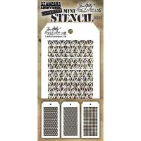 Tim Holtz Mini Layered Stencil Set 3/Pkg - Set 27