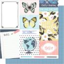 One Canoe Two Hazelwood Double-Sided Cardstock 12X12 - Notes From Hazel