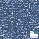 Dear Lizzy Lovely Day Foiled Cardstock 12X12 - W/White Iridescent