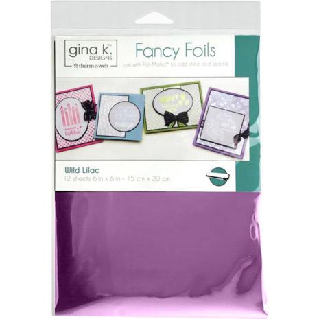 Thermoweb Gina K Designs Deco Foil 6X8 - Wild Lilac