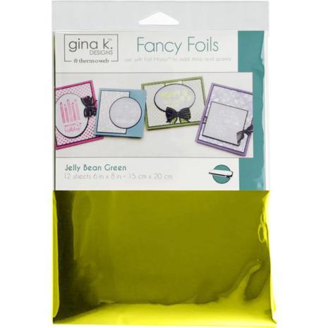 Thermoweb Gina K Designs Deco Foil 6X8 - Jelly Bean Green