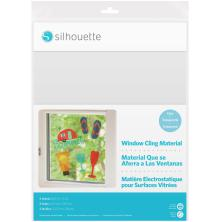 Silhouette Printable Window Cling 8.5X11 5/Pkg - Clear