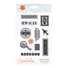 Tonic Studios Jetsetters Passport – Travel Stamp 1 1640 E