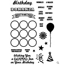 Inky Antics Clear Stamp Set - Birthday Bonanza UTGÅENDE