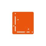 Tonic Studios Essentials – Dot & Drop Diamond Corner 1699E