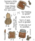 Inky Antics Clear Stamp Set - Peanut Butter