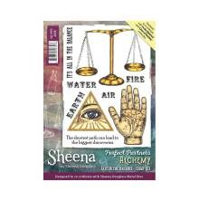 Sheena Douglass Perfect Partner Alchemy A6 Stamp Set - Fate in the balance