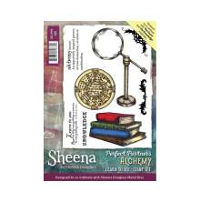 Sheena Douglass Perfect Partner Alchemy A6 Stamp Set - Learn to See