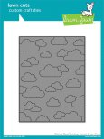 Lawn Fawn Custom Craft Dies - Stitched Cloud Backdrop: Portrait