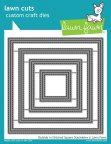 Lawn Fawn Custom Craft Dies - Outside In Stitched Square Stackables