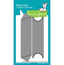 Lawn Fawn Custom Craft Dies - Simple Gift Card Slots