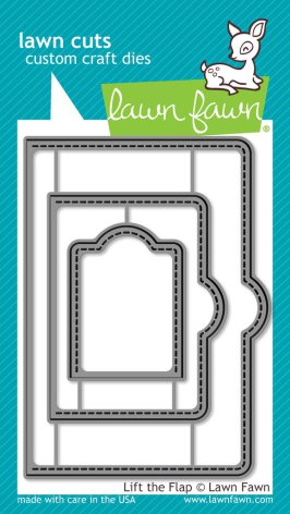 Lawn Fawn Custom Craft Dies - Lift The Flap