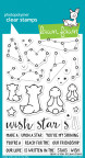Lawn Fawn Clear Stamps 4X6 - Upon A Star