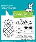 Lawn Fawn Clear Stamps 3X2 - Aloha