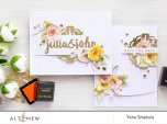 Altenew Layering Clear Stamps 4X6 - Calligraphy Alpha