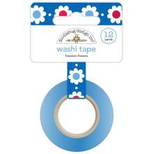 Doodlebug Washi Tape 15mmX12yd - Freedom Flowers