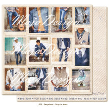 Maja Design Denim & Friends 12X12 - Snapshots Guys in jeans