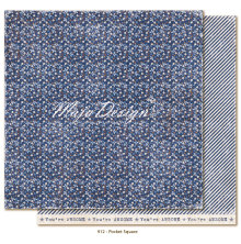 Maja Design Denim & Friends 12X12 - Pocket square