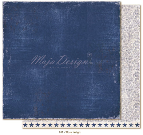 Maja Design Denim & Friends 12X12 - Worn Indigo
