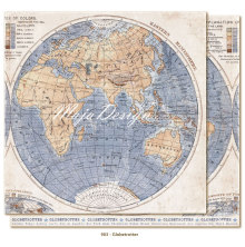 Maja Design Denim & Friends 12X12 - Globetrotter