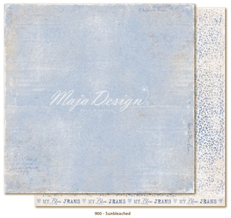Maja Design Denim & Friends 12X12 - Sunbleached