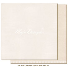 Maja Design Monochromes 12X12 Shades of Denim - Off white