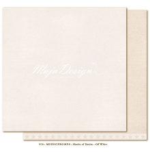 Maja Design Monochromes 12X12 Shades of Denim - Off white
