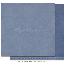 Maja Design Monochromes 12X12 Shades of Denim - Blue