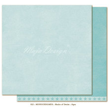 Maja Design Monochromes 12X12 Shades of Denim - Aqua