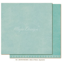 Maja Design Monochromes 12X12 Shades of Denim - Aquamarine