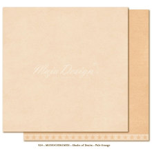 Maja Design Monochromes 12X12 Shades of Denim - Pale Orange