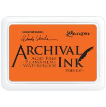 Ranger Archival Ink Pad - Tiger Lily