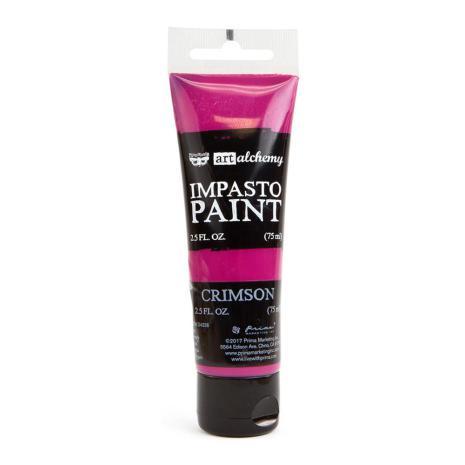 Prima Finnabair Art Alchemy Impasto Paint 75ml - Crimson