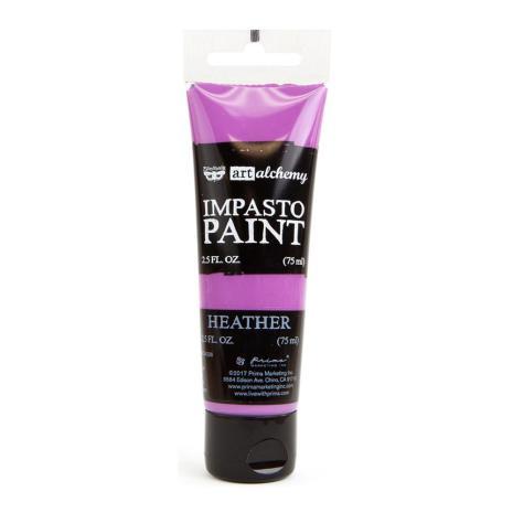 Prima Finnabair Art Alchemy Impasto Paint 75ml - Heather