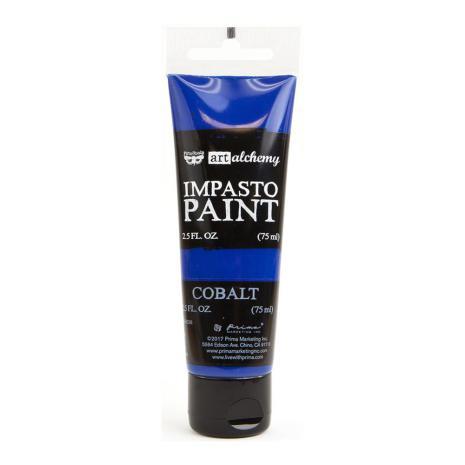 Prima Finnabair Art Alchemy Impasto Paint 75ml - Cobalt