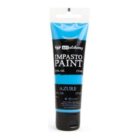 Prima Finnabair Art Alchemy Impasto Paint 75ml - Azure