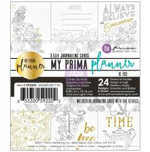 Prima My Prima Planner Watercolor Journaling Cards - Be Free