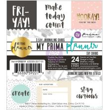 Prima My Prima Planner Watercolor Journaling Cards - Stay Curious