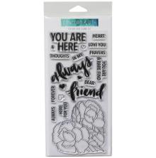 Concord & 9th Clear Stamps 4X8 - You Are Here