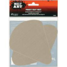 Ranger Melt Art Project Craft Sheet 2/Pkg