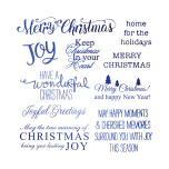Crafters Companion Foil Transfers - Christmas Village