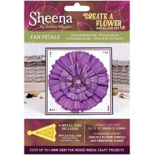 Sheena Douglass Create a Flower Metal Die - Fan Petals UTGÅENDE