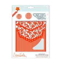 Tonic Studios Essentials Idyllics Embossingfolder & Die Set - Entwined Hearts